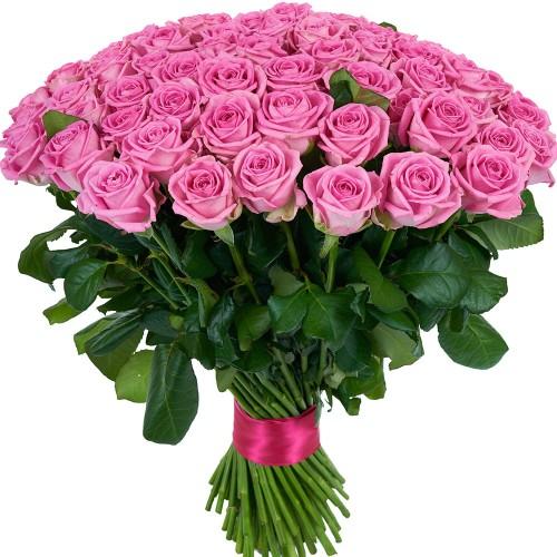 Купить на заказ Заказать Букет из 101 розовой розы с доставкой по Степногорску с доставкой в Степногорске