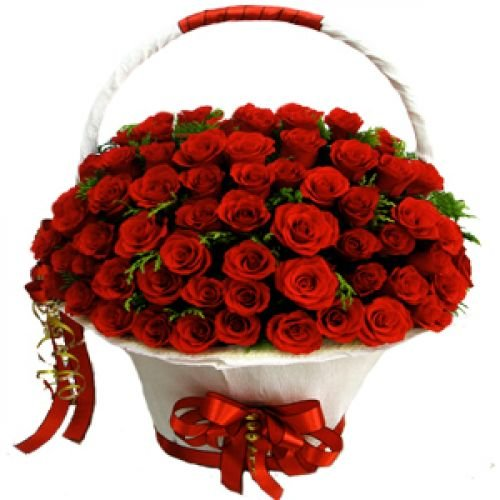 Купить на заказ Заказать Корзина с цветами 8 с доставкой по Степногорску с доставкой в Степногорске