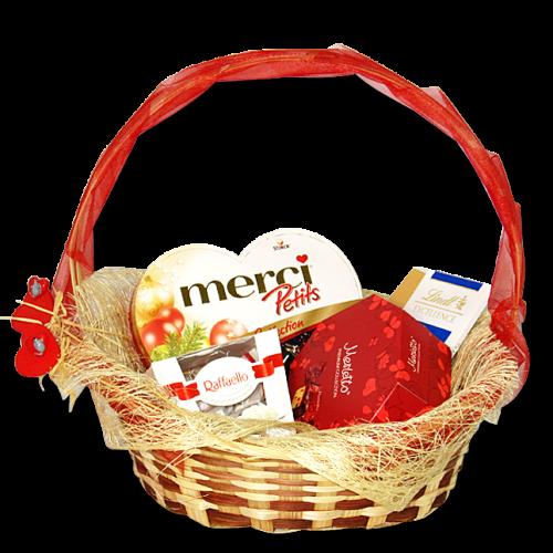 Купить на заказ Заказать Корзина сладостей 5 с доставкой по Степногорску с доставкой в Степногорске