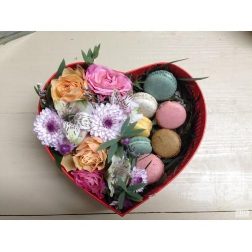 Купить на заказ Заказать Коробочка сердце 1 с доставкой по Степногорску с доставкой в Степногорске