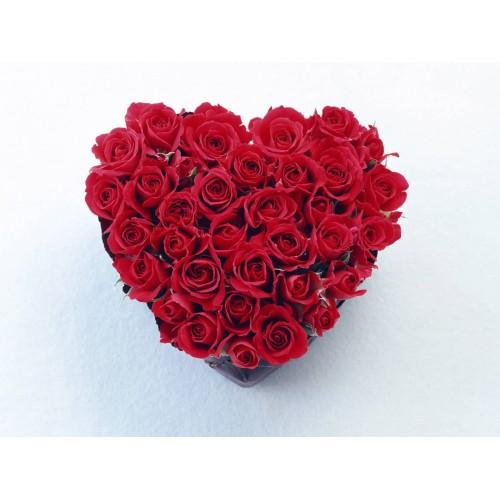 Купить на заказ Заказать Сердце 11 с доставкой по Степногорску с доставкой в Степногорске
