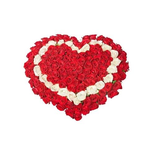 Купить на заказ Заказать Сердце 7 с доставкой по Степногорску с доставкой в Степногорске