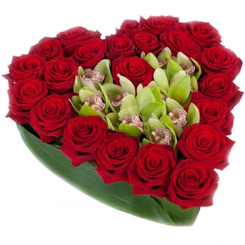 Купить на заказ Заказать Сердце 10 с доставкой по Степногорску с доставкой в Степногорске