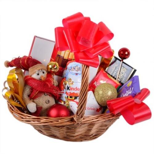 Купить на заказ Заказать Корзина с подарками с доставкой по Степногорску с доставкой в Степногорске