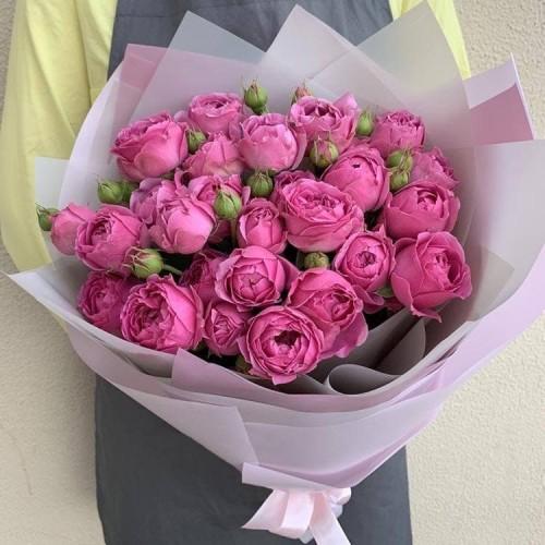 Купить на заказ Заказать 25 пионовидных роз с доставкой по Степногорску с доставкой в Степногорске