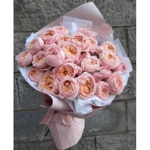 Купить на заказ Заказать 31 пионовидные розы с доставкой по Степногорску с доставкой в Степногорске