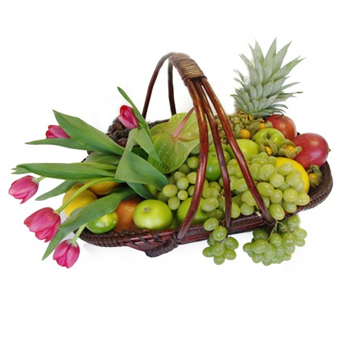 Купить на заказ Заказать Корзина с фруктами 3 с доставкой по Степногорску с доставкой в Степногорске