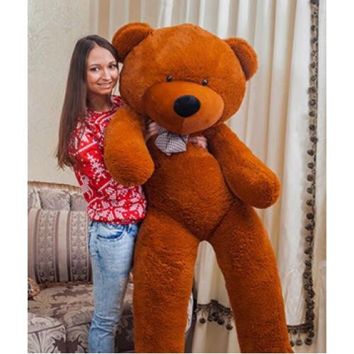 Купить на заказ Заказать Плюшевый мишка 180 см с доставкой по Степногорску с доставкой в Степногорске