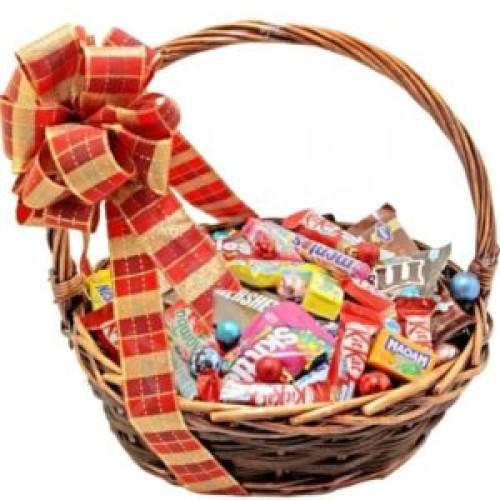 Купить на заказ Заказать Корзина сладостей 1 с доставкой по Степногорску с доставкой в Степногорске